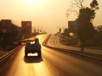 Arriving to Lusaka