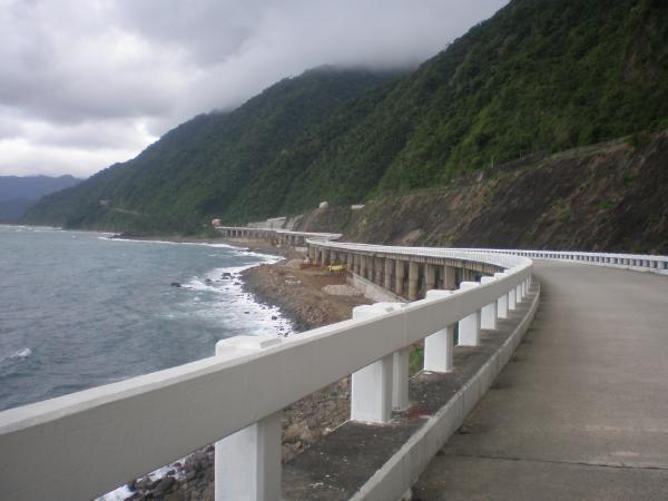The long and winding Patapat Bridge taken during Pagudpud Rinnovati organized tour.
