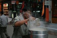 Steamed momo at Thamel, Katmandu