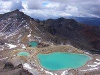 Mineral Lakes, Tongariro Crossing