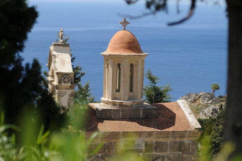 Preveli Mortuary chapel detail 1