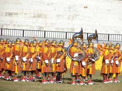 Bhutan Musical Honor Guard