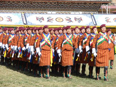 Royal Bhutan Honor Guard