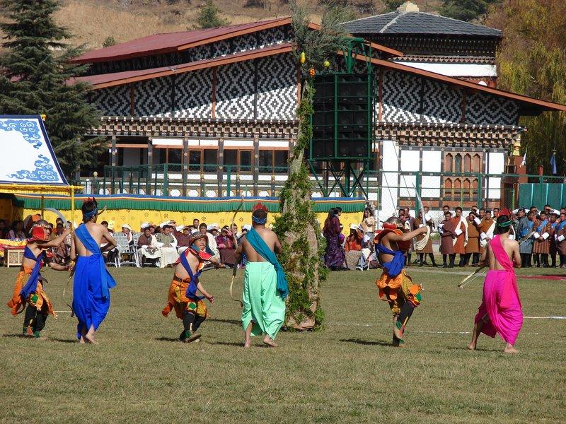 Ceremonial Dance Around Tree II