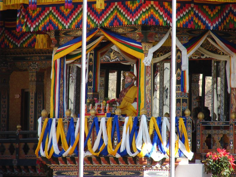 Shabdrung at Bhutan National Day