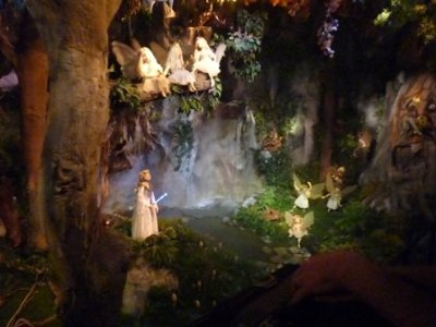 Fairy scene in the DroomVlucht ride, Efteling