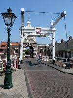 Morspoort, one of the original gates to the old city of Leiden
