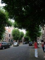 The SchoolStraat in Voorschoten where the market is held every Friday