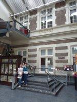 Inside the Concert Gebouw concert hall, Amsterdam