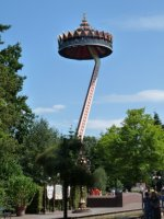 The Pagoda ride at the Efteling.