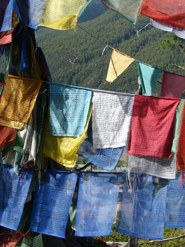 Colors of Prayer Flags