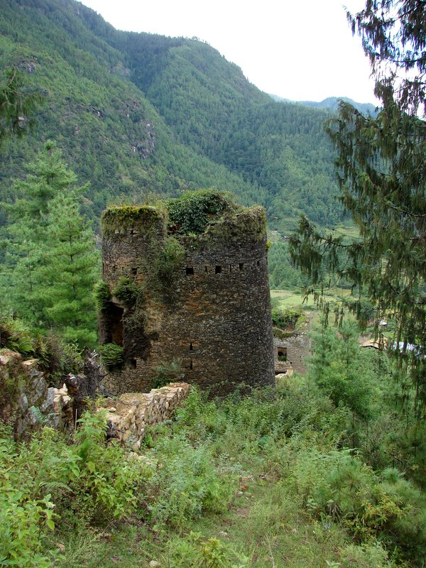 South towers of Drukgyel Dzong