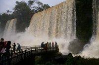 Argentinian side of Iguaçu