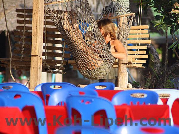 chillout at Pattaya beach