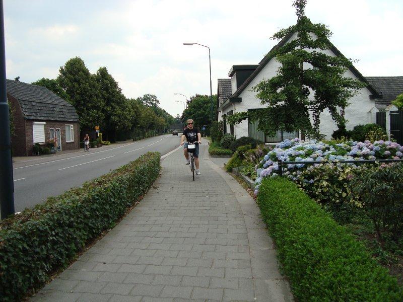 Chris on Bike