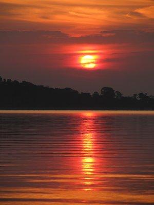 ssese island gün batımı