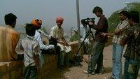 me filming Salim - Jaisalmer