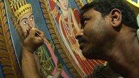 Mogol paintings in a Jain Temple - Delhi