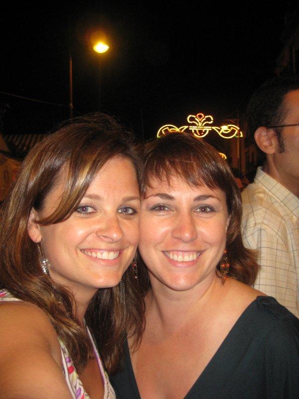 Me and Jami at a street fair