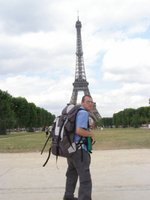 Me, my bag & the Eiffel Tower