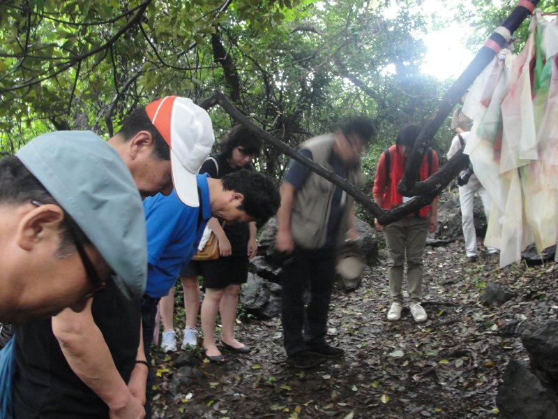 Jeju shamanism with Young Ja and Young Hie