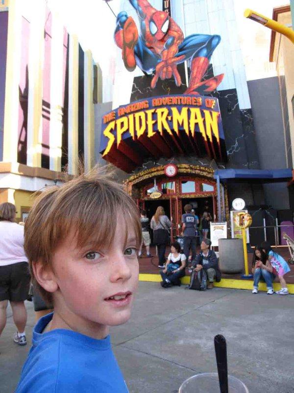 Universal Studios Jack and Spiderman
