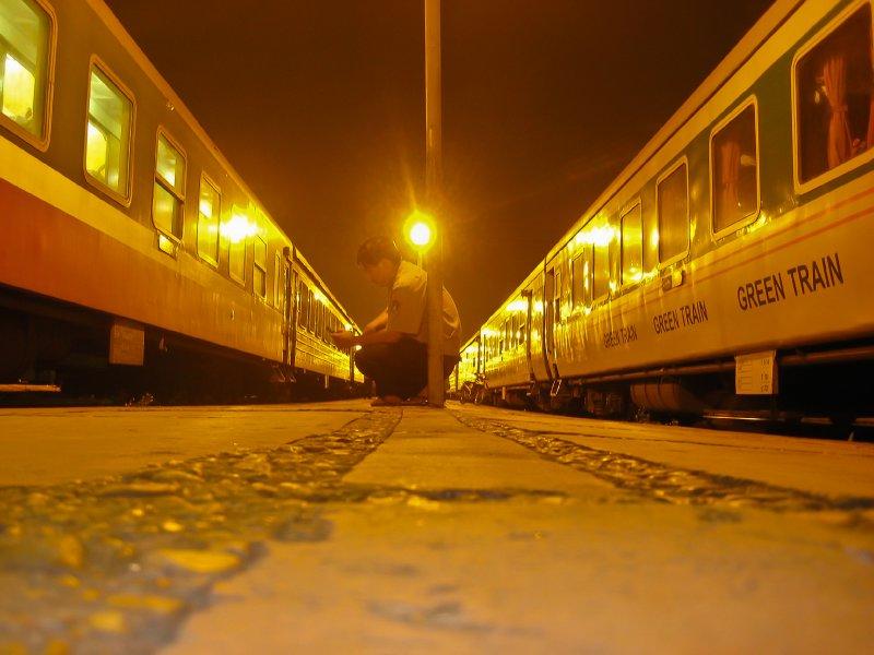 nightshift at trainstation