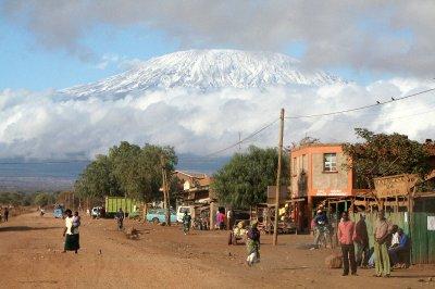 Kimana and Kilimanjaro