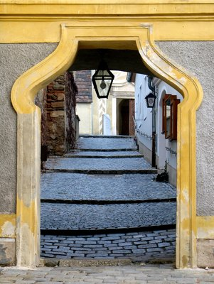A Doorway in Durnstein