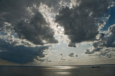 Skagerrak Sea clouds
