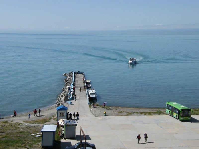 Dock of the bird's island