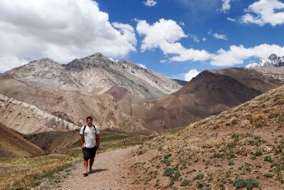 Old Trail to Aconcagua Park