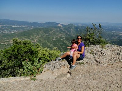 Ylla and I in Montserrat