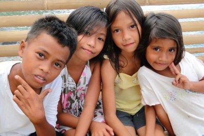 Padre Burgos local children