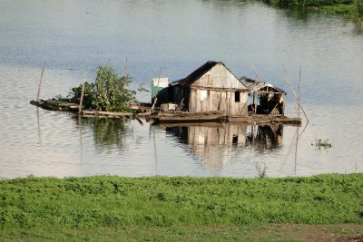 Floating house, Iquitos