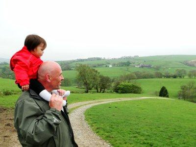 The Yorkshire Dales landscape