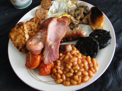A real English breakfast