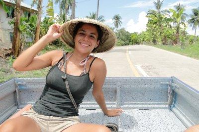 On the back of a truck, Cebu Island
