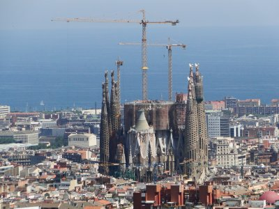 La Sagrada Familia, a work in progress