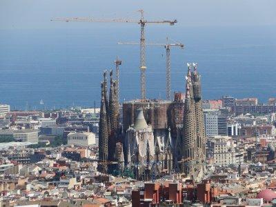 La Sagrada Familia, a work in progress