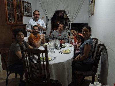 Peruvian Dinner with Xavi