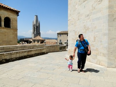 Jay and Ylla in Girona