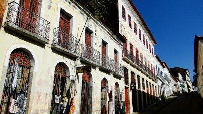 Colonial architecture in São Luis de Maranhão