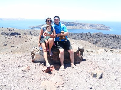 Us in the Caldera