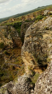 Canyon in Sete Cidades