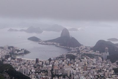 The Sugar Loaf as seen from Corcovado