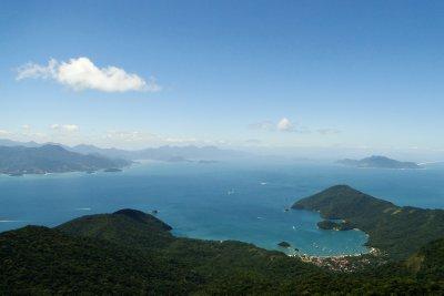 Views from Pico do Papagaio