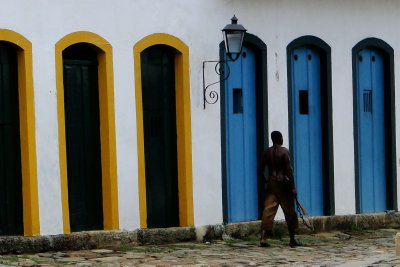 Interesting character of Paraty