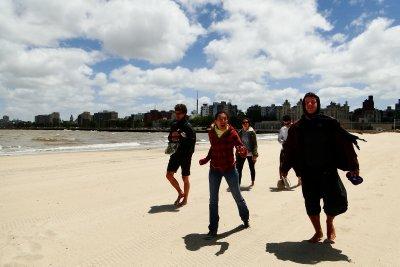 Walking Around Montevideo