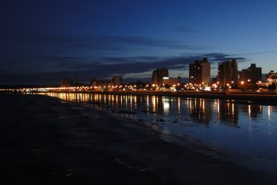Puerto Madryn at Night, as seen from the Pier